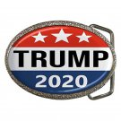 President Trump 2020 High Quality Metal Chrome Belt Buckle