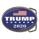 Donald Trump President 2020 High Quality Metal Chrome Belt Buckle