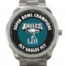 Philadelphia Eagles Fly Eagles Fly Super Bowl Sport Metal Watch 001 Unisex Sport Metal Watch