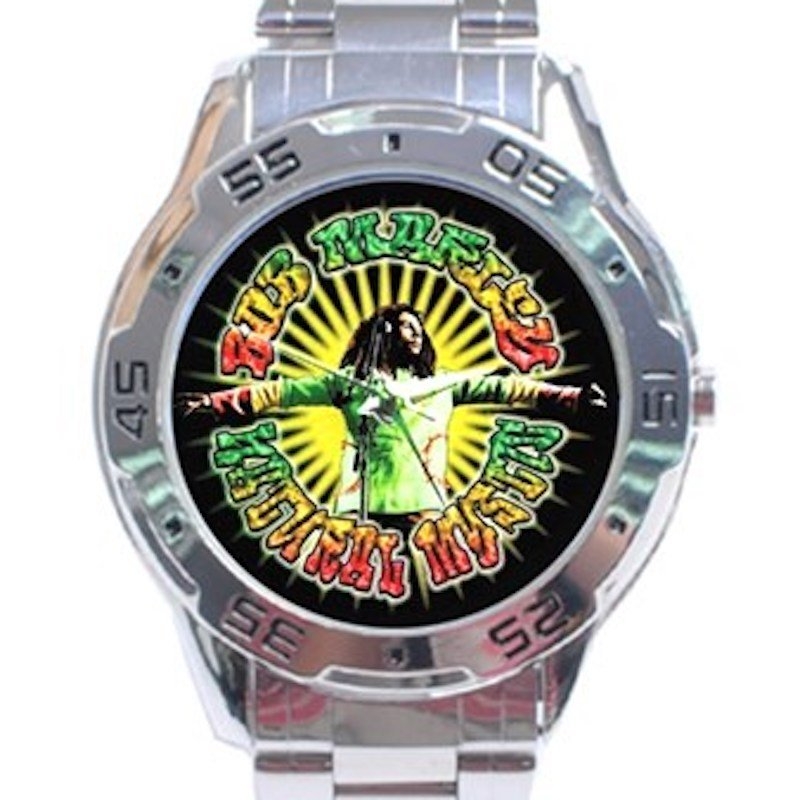 Bob Marley - Natural Mystic Stainless Steel Analogue Watch