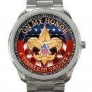 Boy Scouts of America Logo Unisex Sport Metal Watch