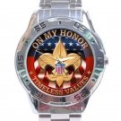 Boy Scouts of America Logo Stainless Steel Analogue Watch