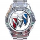 Buick Car Logo Stainless Steel Analogue Watch