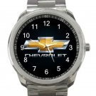 Chevrolet Car Logo Unisex Sport Metal Watch