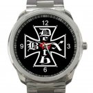 Deathbox Skateboards Logo Unisex Sport Metal Watch