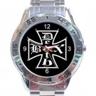 Deathbox Skateboards Logo Stainless Steel Analogue Watch