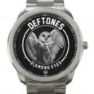 Deftones Diamond Eyes Unisex Sport Metal Watch