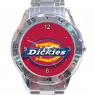 Dickies Horseshoe Logo Stainless Steel Analogue Watch