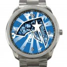 Famous Stars And Straps Blue Face Unisex Sport Metal Watch
