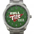 Full Tilt Poker Unisex Sport Metal Watch