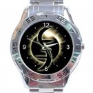 Heroes Helix Symbol Unisex Stainless Steel Analogue Watch