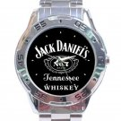 Jack Daniel's No.7 Tennessee Whiskey Unisex Stainless Steel Analogue Watch