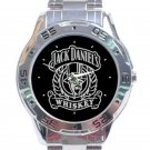 Jack Daniel's Whiskey Unisex Stainless Steel Analogue Watch