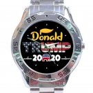 Donald Trump 2020 Unisex Stainless Steel Analogue Watch