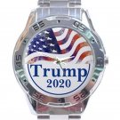 Trump 2020 Unisex Stainless Steel Analogue Watch