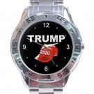 Trump 2020 Red Cap Unisex Stainless Steel Analogue Watch