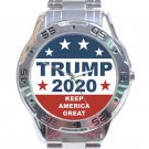 Trump 2020 Keep America Great Design 1 Unisex Stainless Steel Analogue Watch