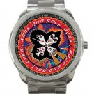 Kiss Rock And Roll Over Unisex Sport Metal Watch