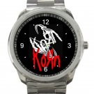 Korn Band Unique Logo Unisex Sport Metal Watch