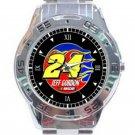 New Jeff Gordon 24 NASCAR Unisex Stainless Steel Analogue Watch