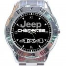 New Jeep Cherokee 4X4 Unisex Stainless Steel Analogue Watch