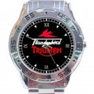 New Triumph Thunderbird Unisex Stainless Steel Analogue Watch
