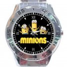 New Minions Despicable Me Unisex Stainless Steel Analogue Watch