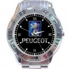 New Peugeot Muscle Car Unisex Stainless Steel Analogue Watch