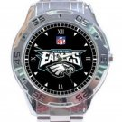New NFL Philadelphia Eagles Unisex Stainless Steel Analogue Watch