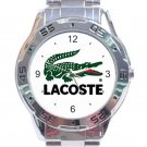 Lacoste Logo Unisex Stainless Steel Analogue Watch