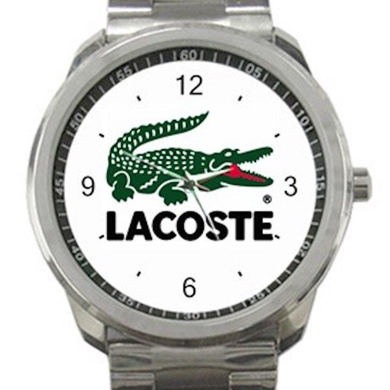 Lacoste Logo Unisex Sport Metal Watch