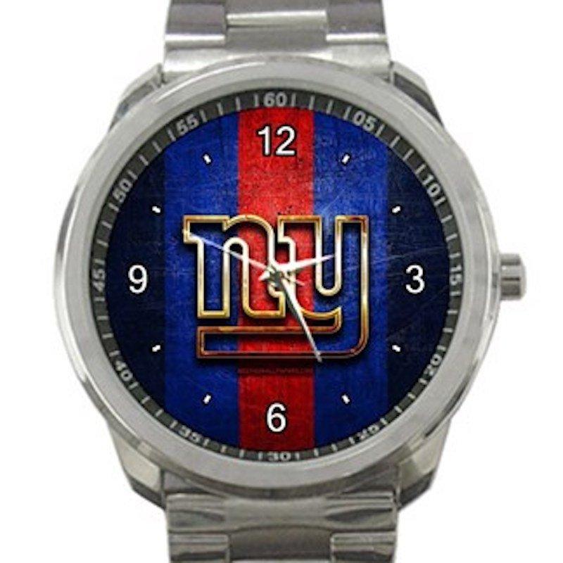 New York Giants Logo Unisex Sport Metal Watch