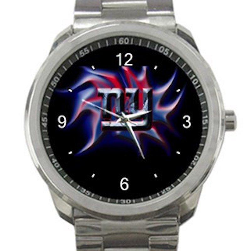 New York Giants Unique Logo Unisex Sport Metal Watch
