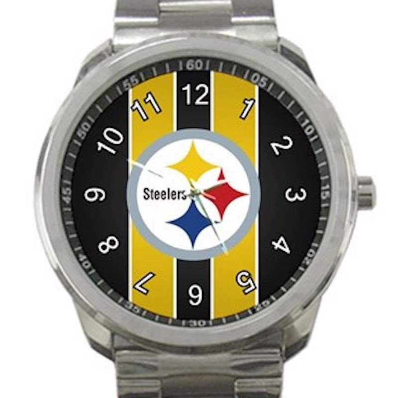 Pittsburgh Steelers Unisex Sport Metal Watch