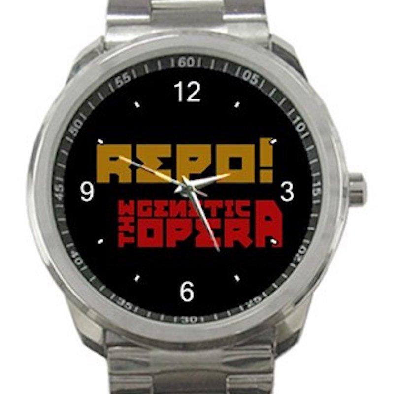Repo The Genetic Opera Unisex Sport Metal Watch