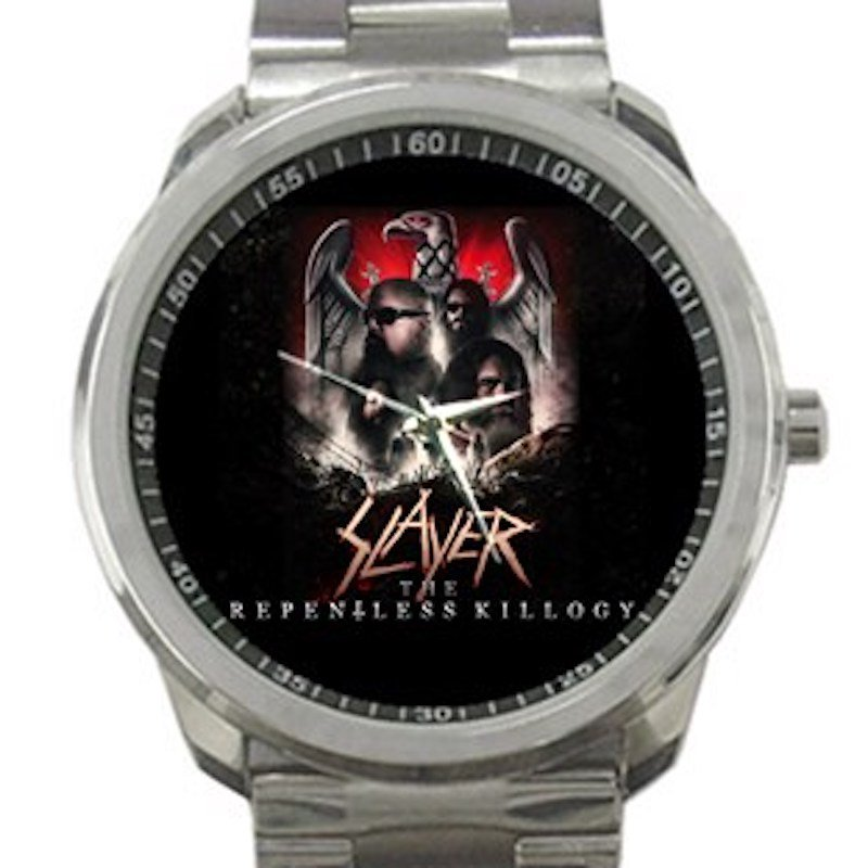 Slayer The Repentless Killogy Unisex Sport Metal Watch