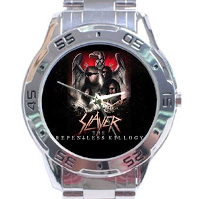 Slayer The Repentless Killogy Unisex Stainless Steel Analogue Watch