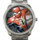 Nice Cartoon Spider-Man Unisex Sport Metal Watch