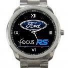 Ford Focus RS Logo Unisex Sport Metal Watch