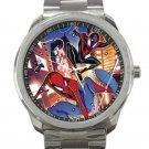 Marvel Action Spider-Man Unisex Sport Metal Watch