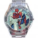 Spider-Man With Web Unisex Stainless Steel Analogue Watch