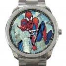 Spider-Man With Web Unisex Sport Metal Watch