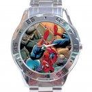 Spider-man & Alien Invasion Unisex Stainless Steel Analogue Watch