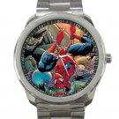 Spider-man & Alien Invasion Unisex Sport Metal Watch