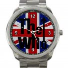 The Who Music Band Logo Unisex Sport Metal Watch