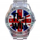 The Who Music Band Logo Unisex Stainless Steel Analogue Watch