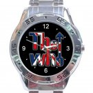 The Who Band Logo 2019 Unisex Stainless Steel Analogue Watch