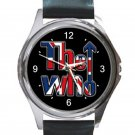 The Who Band Logo 2019 Unisex Round Silver Metal Watch