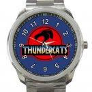 ThunderCats Animated Series Jurassic Park Style Logo Unisex Sport Metal Watch