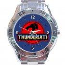 ThunderCats Animated Series Jurassic Park Style Logo Unisex Stainless Steel Analogue Watch